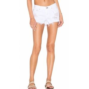 Rag & Bone Cut Off Denim Shorts. Retail- $168